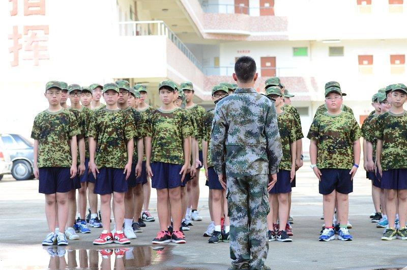 惠阳黄埔军校军人生活体验团